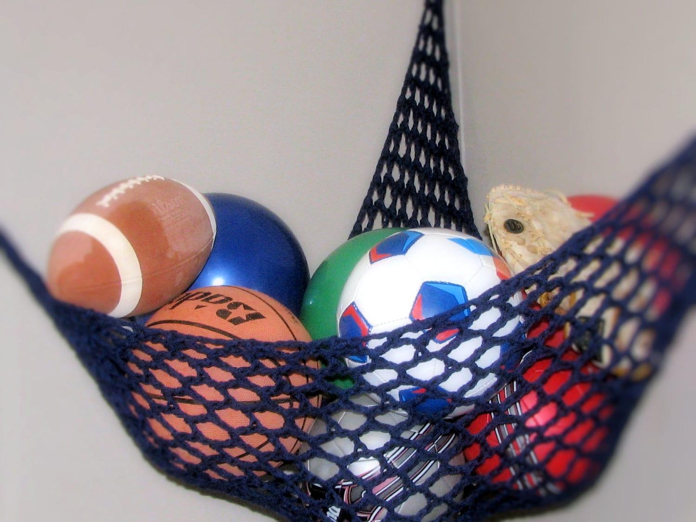 Net Toy Holder : Toy hammock stuffed animal net nursery and childrens room
