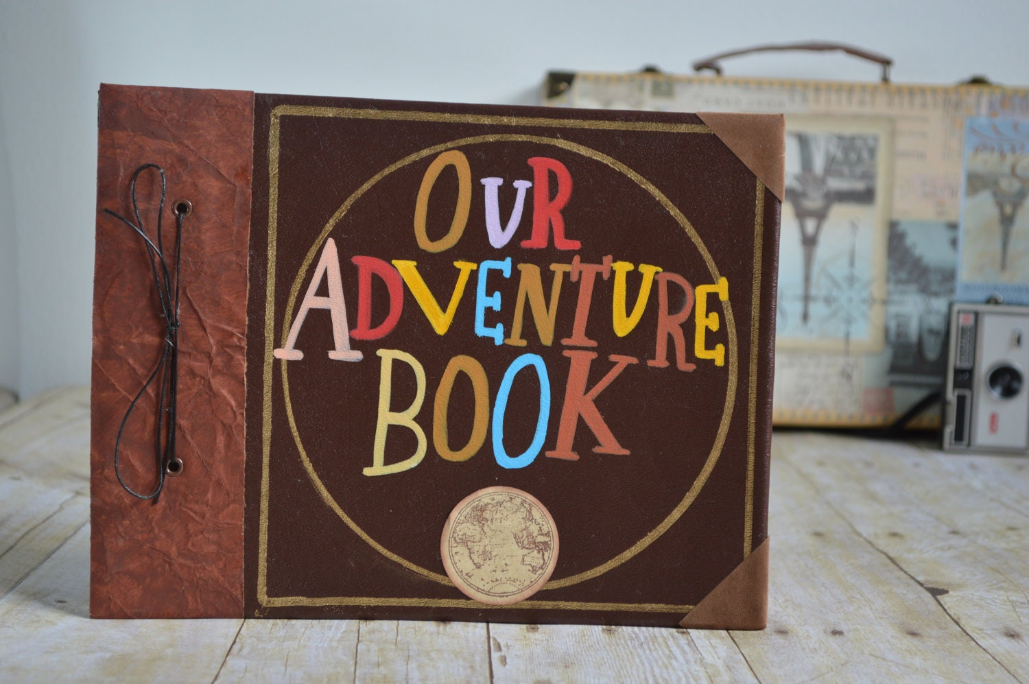 Request a custom order and have something made just for you.: www.etsy.com/listing/84050474/our-adventure-book-adventure-edition