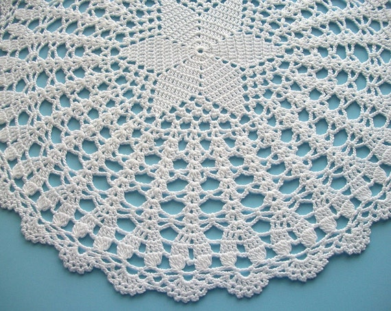 RESERVED LISTING Crochet Star Doily White Cotton Handmade Lace Heirloom Quality