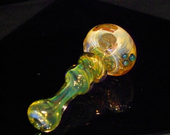 Super Color Changing MTO Jellyfish Glass Pipe