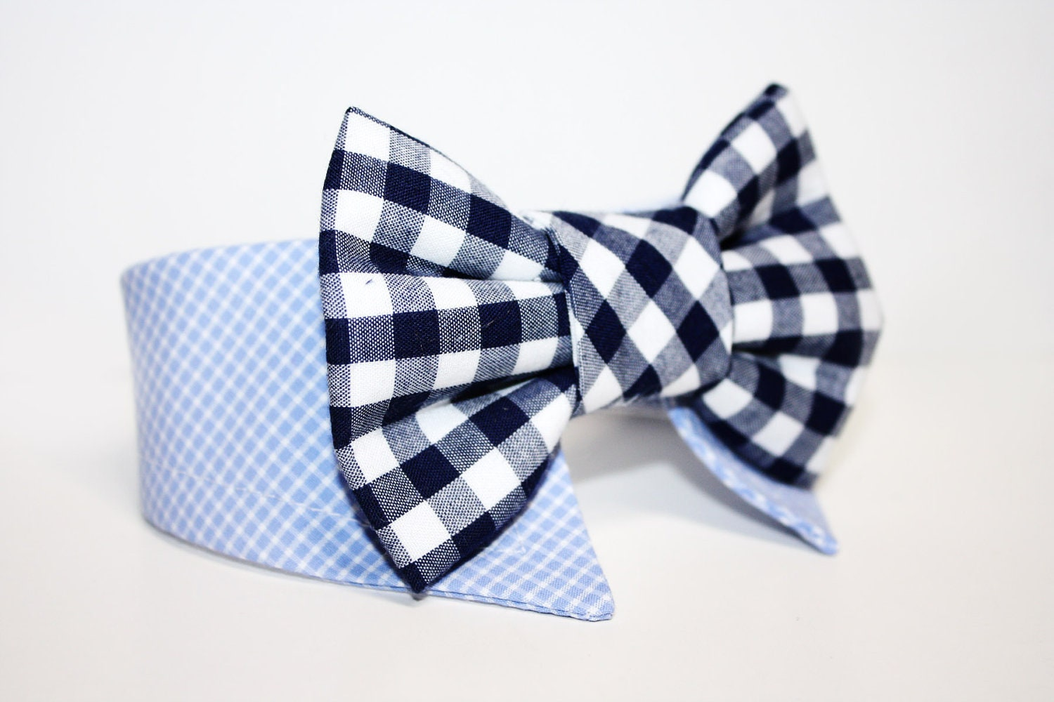 Shirt And Bow Tie Dog Collar Presidential Theme Star Print