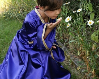 The Wizard Girls Fairy Tale Dress Tudor Renaissance Costume Gown Size Med Childs