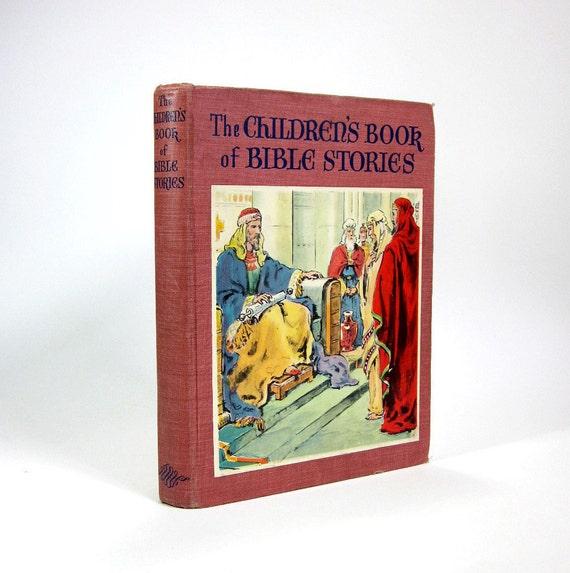 Sale // Children's Book of Bible Stories 1942