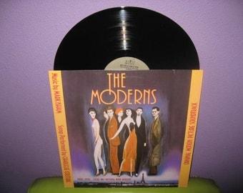 SHOP CLOSING SALE Rare Vinyl Record The Moderns Original Soundtrack Lp 1988 Parisian Orchestral 1920s
