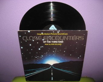 SHOP CLOSING SALE Vinyl Record Album Close Encounters of the Third Kind Original Soundtrack Lp 1977 Sci Fi Classic