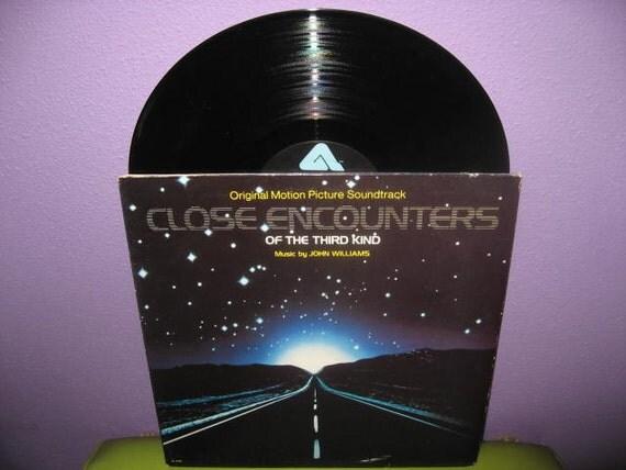 Vinyl Record Album Close Encounters of the Third Kind Original Soundtrack LP 1977 Sci Fi Classic