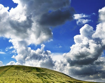 Landscape Photograph, Pendle Hill North West England - Limited Edition Fine Art Print - Gallery Quality Wall Art, Various Sizes and Finishes
