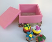 Cupcakes in the Box III- Miniature Fancy Cupcakes Polymer Clay