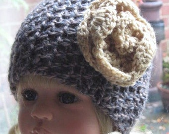 CROCHET PATTERN  - The Buckingham Warmer (Child, toddler, adult sizes) Can be made to Order also