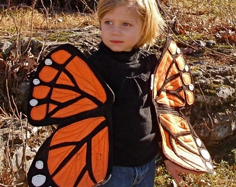 Monarch Butterfly Wings To Let Your Children Float, Flutter and Fly