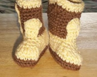 Cowboy Booties - Made to Order