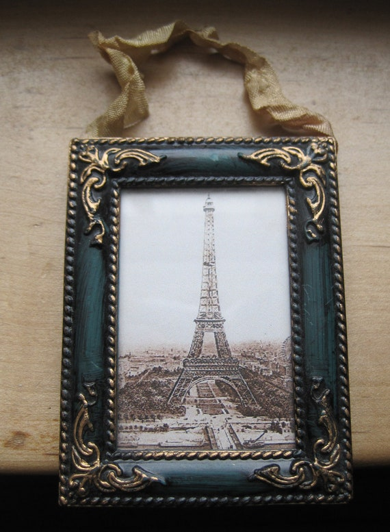 petite french market eiffel tower frame