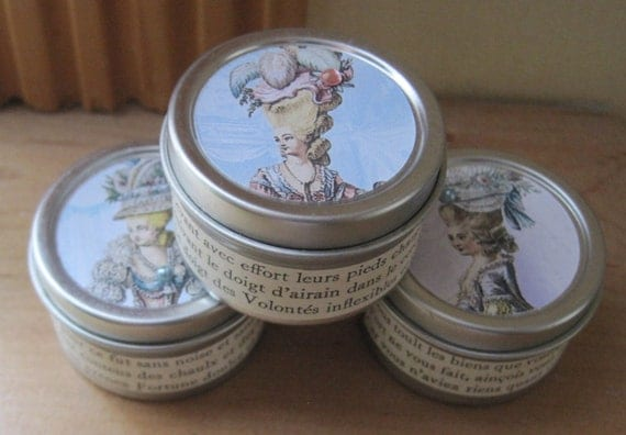 french market marie antoinette 2 oz travel soy candle melon