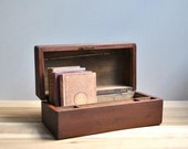 Antique Wood Writing Box
