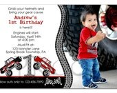 Monster Truck Birthday Invitation - custom design - you print
