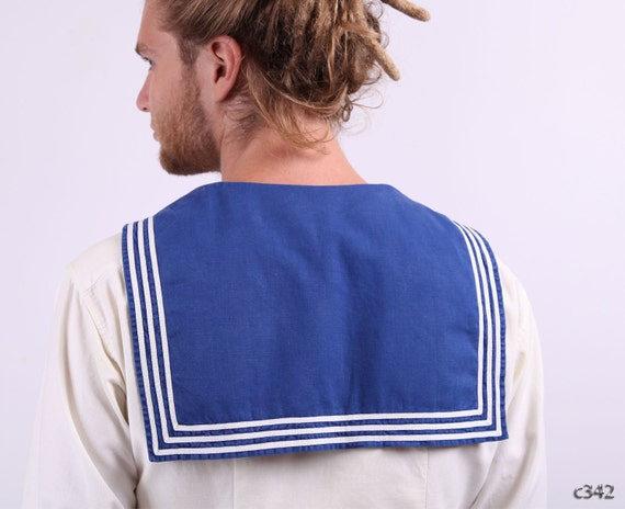 60s Sailor Jacket / Nautical Naval Jacket /