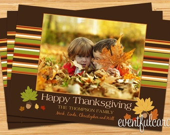 Thanksgiving Photo Card