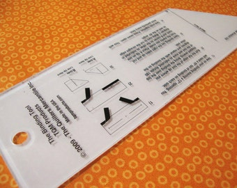 The Binding Tool  by TQM Products - Quilter's Binding Tool Template - Gift for Quilter - Quilting Must Haves