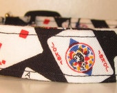 Poker Dog Collar, playing cards, blackjack