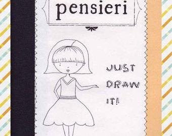 Pensieri Art Zine - Issue 07 - Just Draw It (Digital PDF)