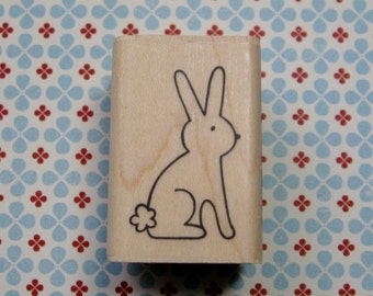 Bunny Rabbit - A Muse Rubber Stamp