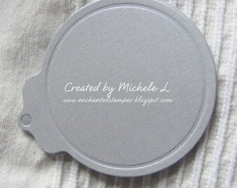 Round Tags- choose your color - Set of 24