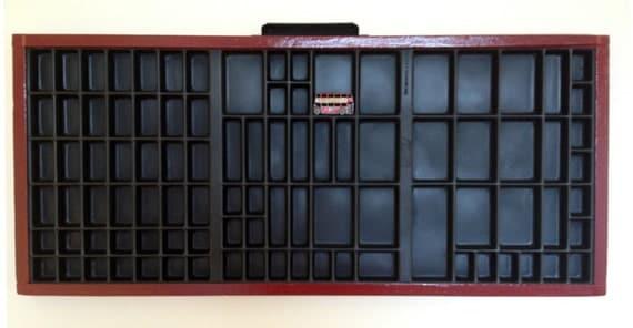 Vintage Printer's Tray
