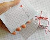 Printable Graph Paper Downloads - Graph/Grid and Lined Paper in Red - Immediate Downloads