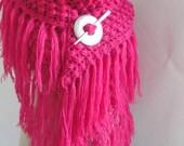woman accessories -Crochet Shawl...handmade shawl- woman shawl -