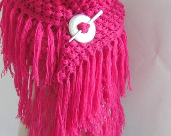 woman accessories -Crochet Shawl...handmade shawl- woman shawl -