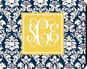 Personalized Mouse pad - Damask - Design Your Own