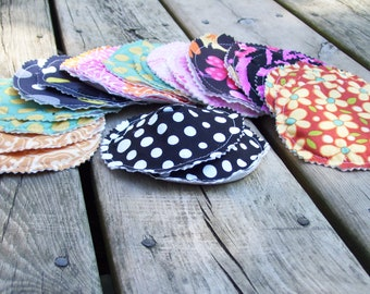 Reusable Breast Pad Sewing Pattern