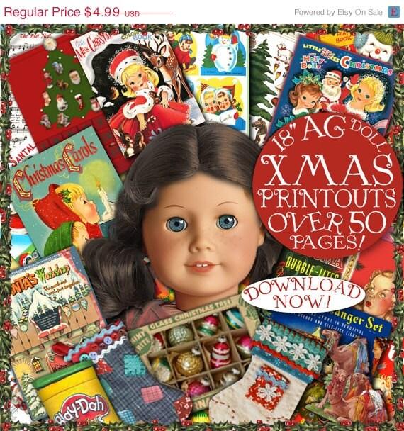 18 inch Doll Christmas Printables
