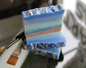 Ocean Soap for the Beach, Showers or Gifts with glycerin & organic ingredients