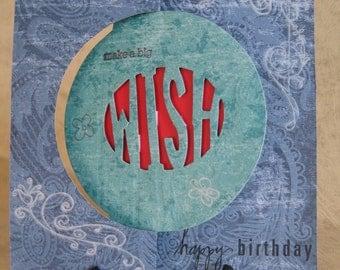 One Make a Big Wish Birthday Card