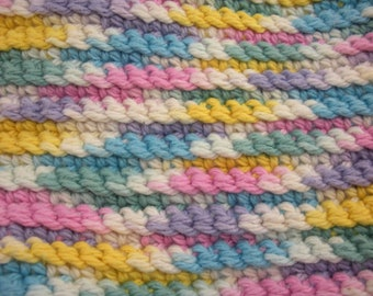 Pretty Pastels Handmade Crocheted-Duster Tool Cover