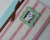 Dainty Vintage Photo Frame Composition Book