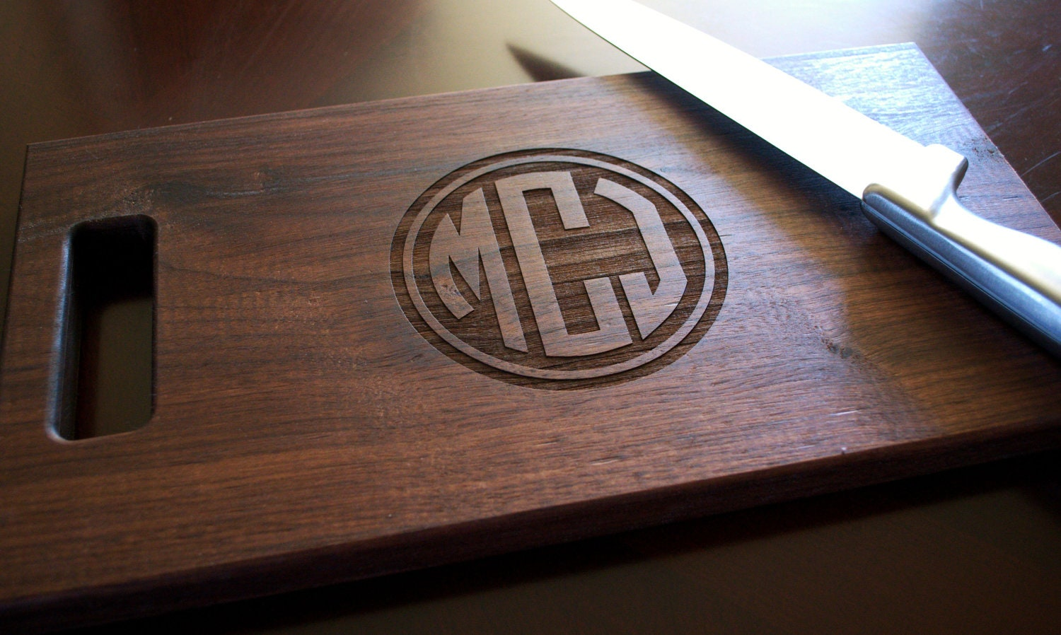 Cutting Board Personalized Cutting Board Laser Engraved 8x14