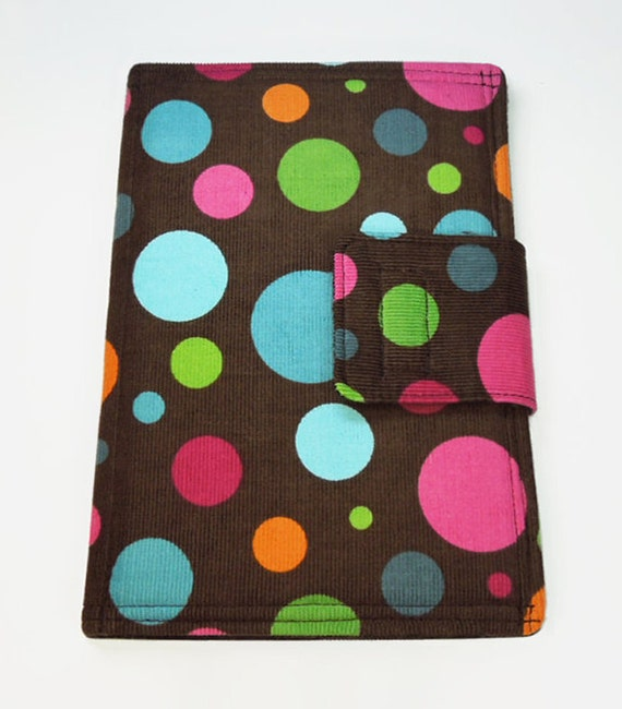 Nexus 7 or Kindle Fire (original) case / cover - Book style - Colorful polka dots