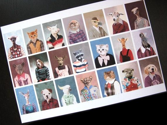 Picture Day Portrait - XLarge Fine Art Print 13 X 19