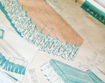SALE- Woman's Home Companion Interior Design Pattern- Bedspread Ensemble No.24 -A