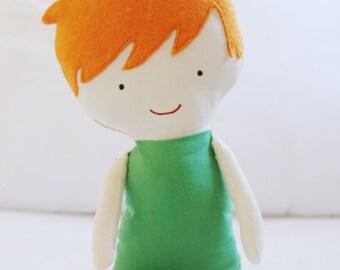 Doll Sewing Pattern Toy Cloth Boy Doll Pattern Dog PDF  - Hunter & Rex