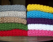 Newborn Photo Prop Blanket Newborn Baby Photography Prop Chunky Blankets 16 x 20 Pick your color
