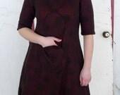 meerwiibli circle dot knit dress