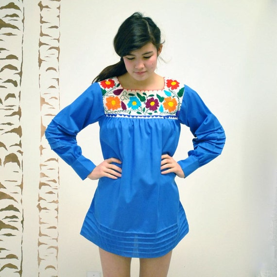 Mexican Tunic  //  Embroidered Mexican Blouse  //  THE OAXACAN