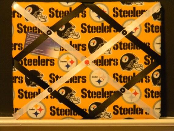 11 x 14 Pittsburgh Steelers Yellow Memory Board