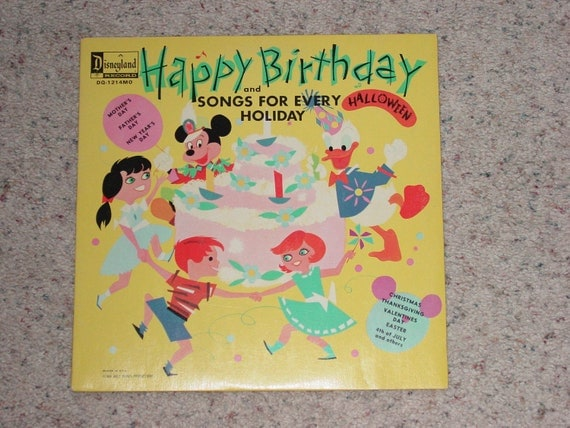 Disney's Happy Birthday and Songs for Every by ...