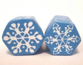 Snowflake cane tutorial: polymer clay