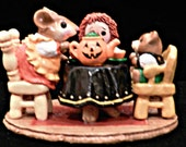 Wee Forest Folk Tea for Three Halloween - Reduced price