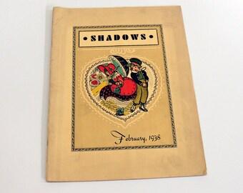 1938 Shadows Magazine Oregon State Penitentiary Inmate Written